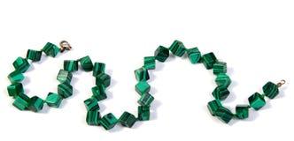 Armlet βραχιολιών κοσμημάτων που απομονώνεται στο λευκό Στοκ Εικόνες