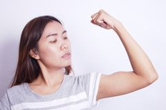 Armmuskel Royaltyfri Bild