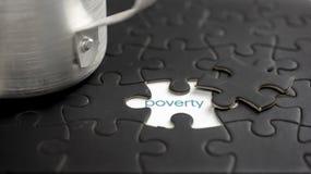 armoede royalty-vrije stock foto