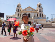Armoede in Azië Royalty-vrije Stock Foto