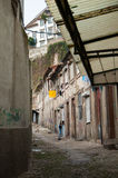 Armoede in de stad Royalty-vrije Stock Fotografie