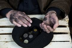 Armoede in ontwikkelingslanden royalty-vrije stock fotografie
