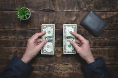 armoede schulden besparingen royalty-vrije stock fotografie