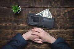 armoede schulden besparingen stock foto