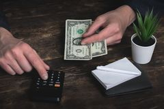 armoede schulden besparingen royalty-vrije stock foto's