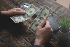 armoede schulden besparingen royalty-vrije stock foto