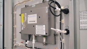 Armoire électrique de panneau de commande Vue arrière de l'écran clips vidéos