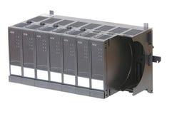 armoire de sortie de modules d'entrée plusieurs Images stock
