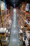Armoires d'entrepôt Image stock