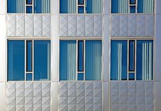 Armonía de azul y de gris foto de archivo libre de regalías