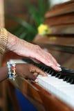 Armonía del ébano y de la marfil Imagen de archivo