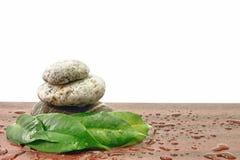 Armonía del zen del balneario de las piedras Foto de archivo libre de regalías