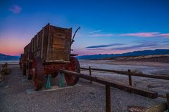 Armonia: Death Valley, California fotografia stock libera da diritti