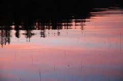 Armonia del lago Fotografia Stock
