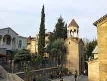 Armonia di vecchia città di Tbilisi Fotografia Stock Libera da Diritti