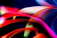 Armonia un rosso, rosa, della viola e del blu Fotografie Stock