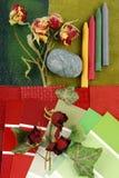 Armonización del color para el interior fotografía de archivo