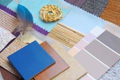 Armonización del color para el interior imagenes de archivo
