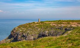 Landscape at Cap Frehel in Brittany royalty free stock images