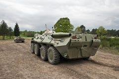 Armor Group se está trasladando al campo de batalla Fotos de archivo libres de regalías