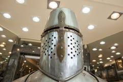 Armor helmet, Toledo, Spain Royalty Free Stock Photo