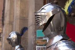 Armor helmet, Toledo, Spain Stock Photos