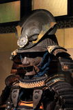 Samurai armor. Armor of Japanese warlord stock images