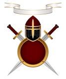 Armor knight. Royalty Free Stock Photo