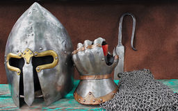 Armor of the knight Royalty Free Stock Images