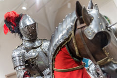 Armor for Man and Horse - 1565 Stock Photography
