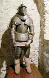 Armor of a medival knight. In the castle museum Royalty Free Stock Photography