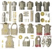 Armor of the middle ages. Royalty Free Stock Photos