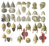 Armor of the middle ages. Royalty Free Stock Photo