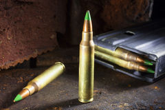 Armor piercing loads Stock Image