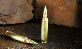 Armor piercing rounds Stock Photography