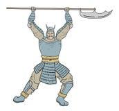 Armor samurai. Creative design of Armor samurai royalty free illustration