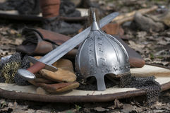 Armor soldier Royalty Free Stock Images