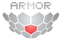 Armor symbol Royalty Free Stock Photography