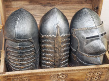 Armor to protect the head Stock Photo