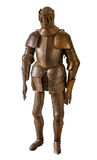 Armor. A vintage european full body armor suit royalty free stock images