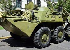 armored военное транспортное средство Стоковые Фото