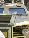 Armored деталь фронта военного транспортного средства - фара Стоковая Фотография RF