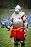 armored рыцарь Стоковое фото RF