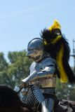 armored рыцарь Стоковые Фото