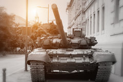 Armored Battle Tank Royalty Free Stock Photo