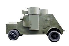 armored bil Arkivfoton