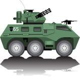 Armored car. An illustration of armored car Stock Photos