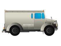 Armored car Royalty Free Stock Image