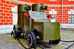 Armored car. During the first world war Stock Images