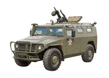 Armored Car Tiger royalty free stock photo